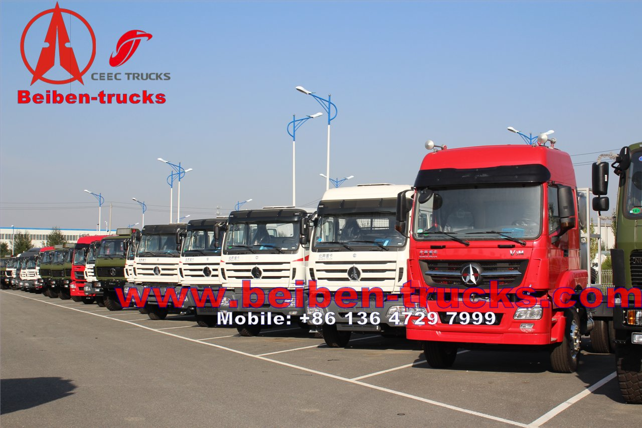 best Beautiful and comfortable cabin Beiben V3 tractor truck cheaper price sale