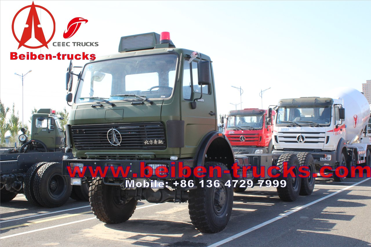 china North Benz BEIBEN Tractor Truck CNG with Mercedes Benz technology, WEICHAI Engine Tractor Truck