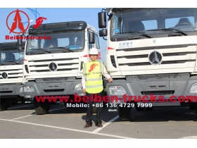 used Mercedes Benz North Beiben Tractor Truck 6x4 EUR II for sale