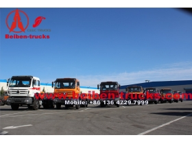 china North Benz BEIBEN Tractor Head 60Tons with WEICHAI engine 380hp 420hp Tractor Truck for Congo