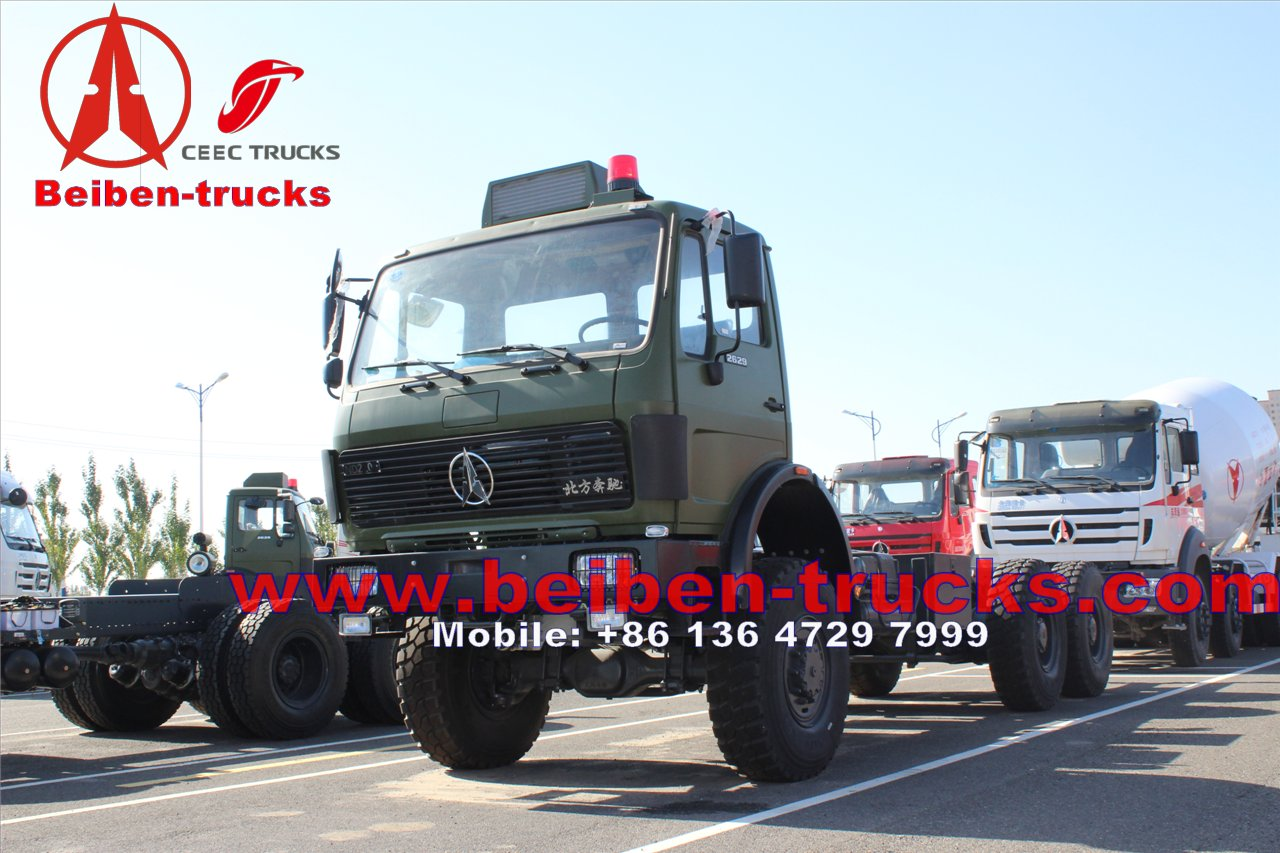china Transporting container truck Hot Sale 380hp Beiben Tractor Truck