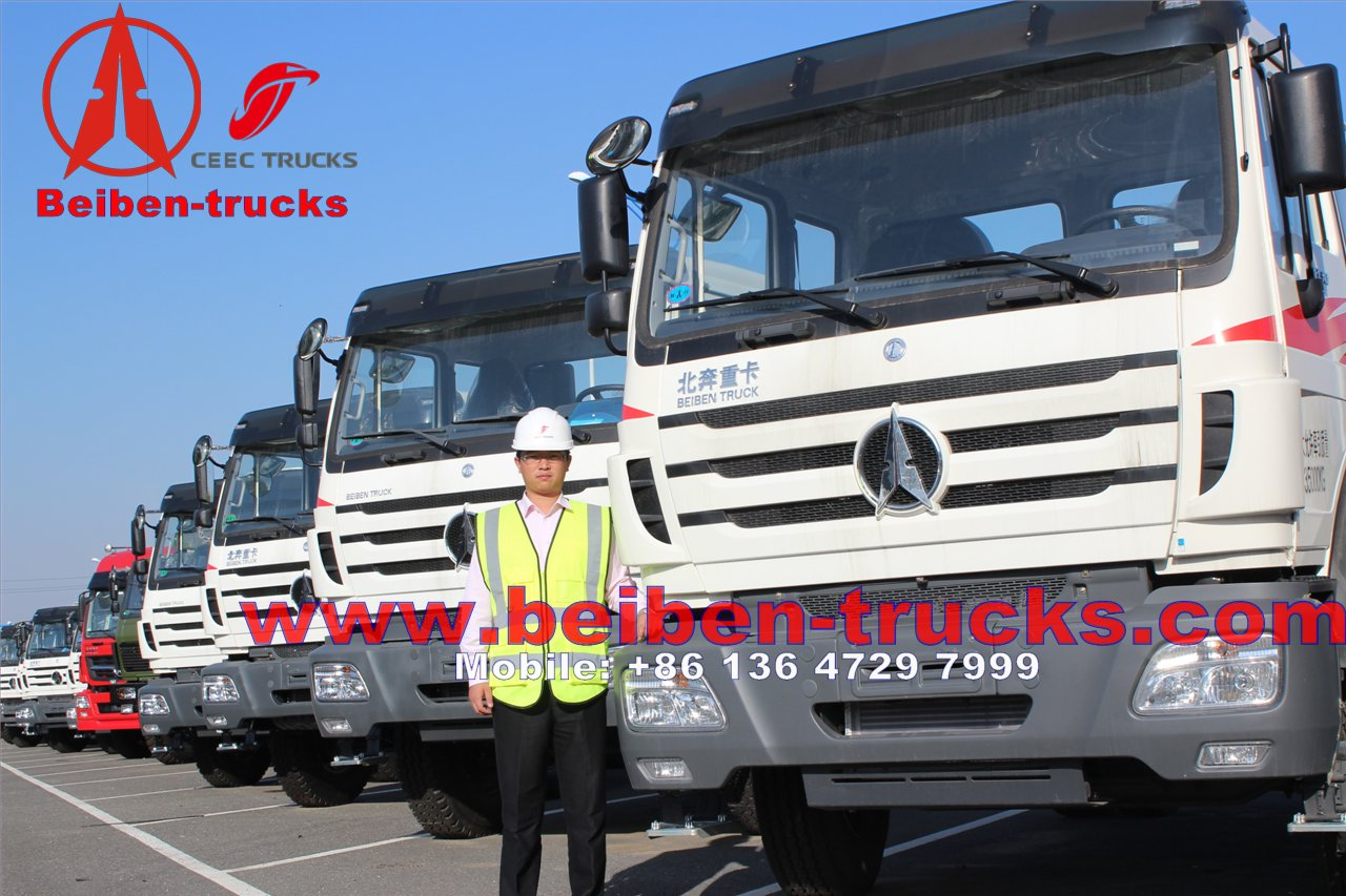 cheapest price for Hot Sale in Africa LHD&RHD 6X4 North Benz Beiben 380 hp tractor truck