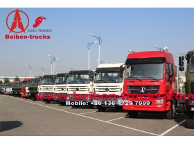 china Beiben Truck NG80 Tractor Trailer supplier for congo
