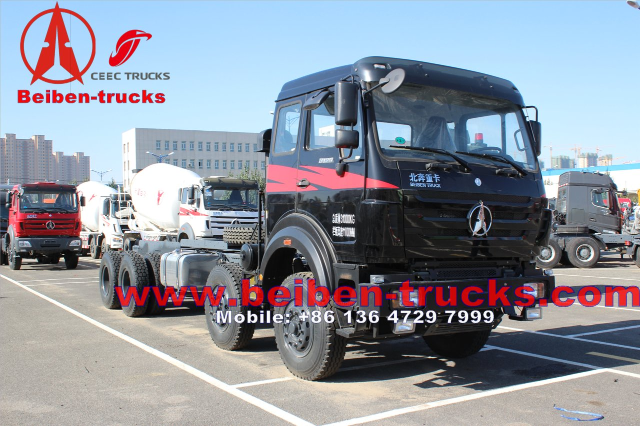 cheapest price Beiben tractor benz 6x6 truck for africa