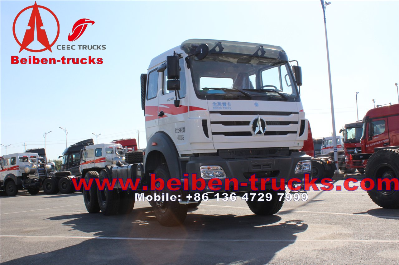 china north benz Beiben 6x4 tractor truck north benz tractor