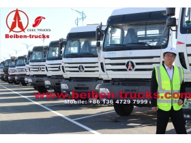 china Mercedes Benz Technology Beiben Truck 6x4 336hp 375hp V3 Tractor Truck