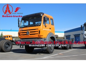 china 380hp BEIBEN North Benz 6x4 tractor camion  for congo country