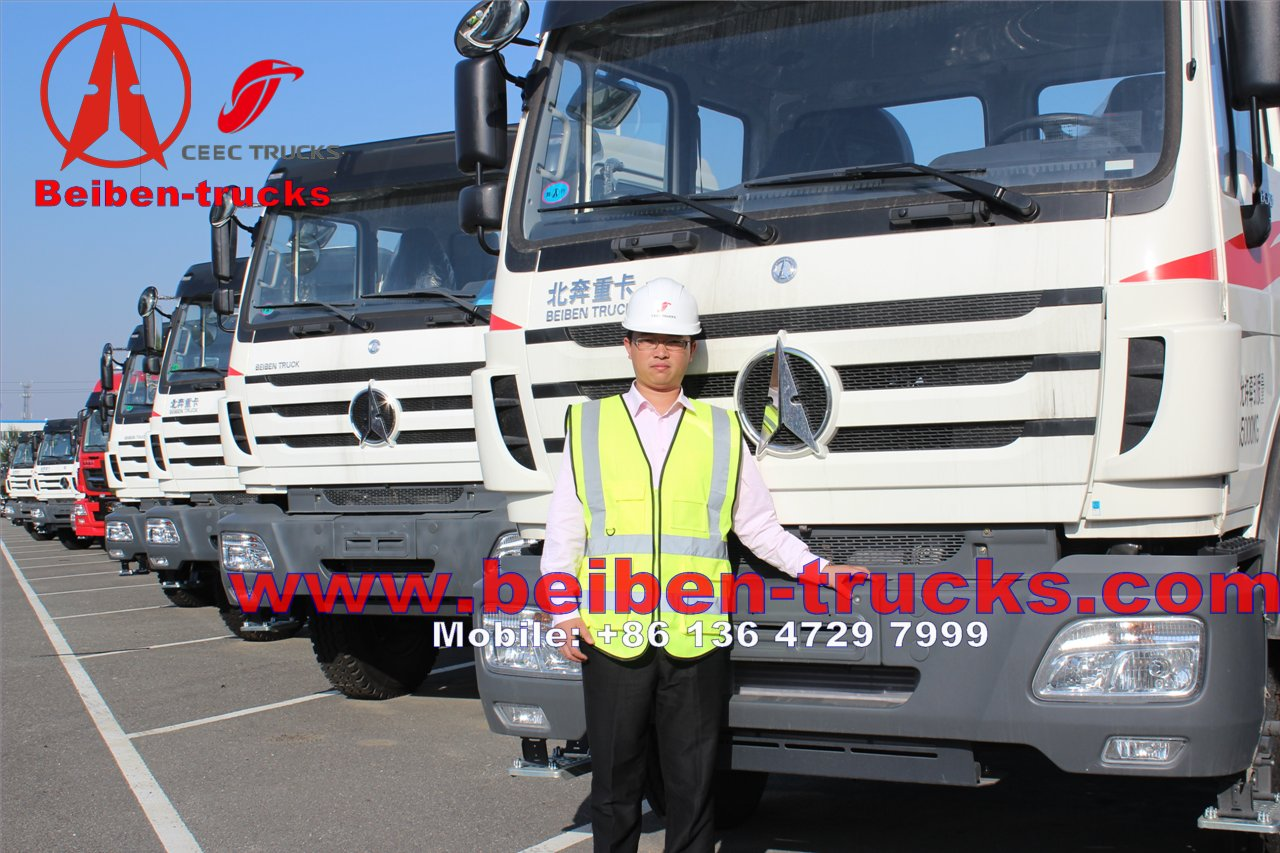 china Beiben/North Benz NG80 6x4 or 6x6 Tractor Trucks For Sale