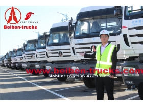 congo North Benz Tractor Truck & Beiben 6*4 Tractor Truck  supplier