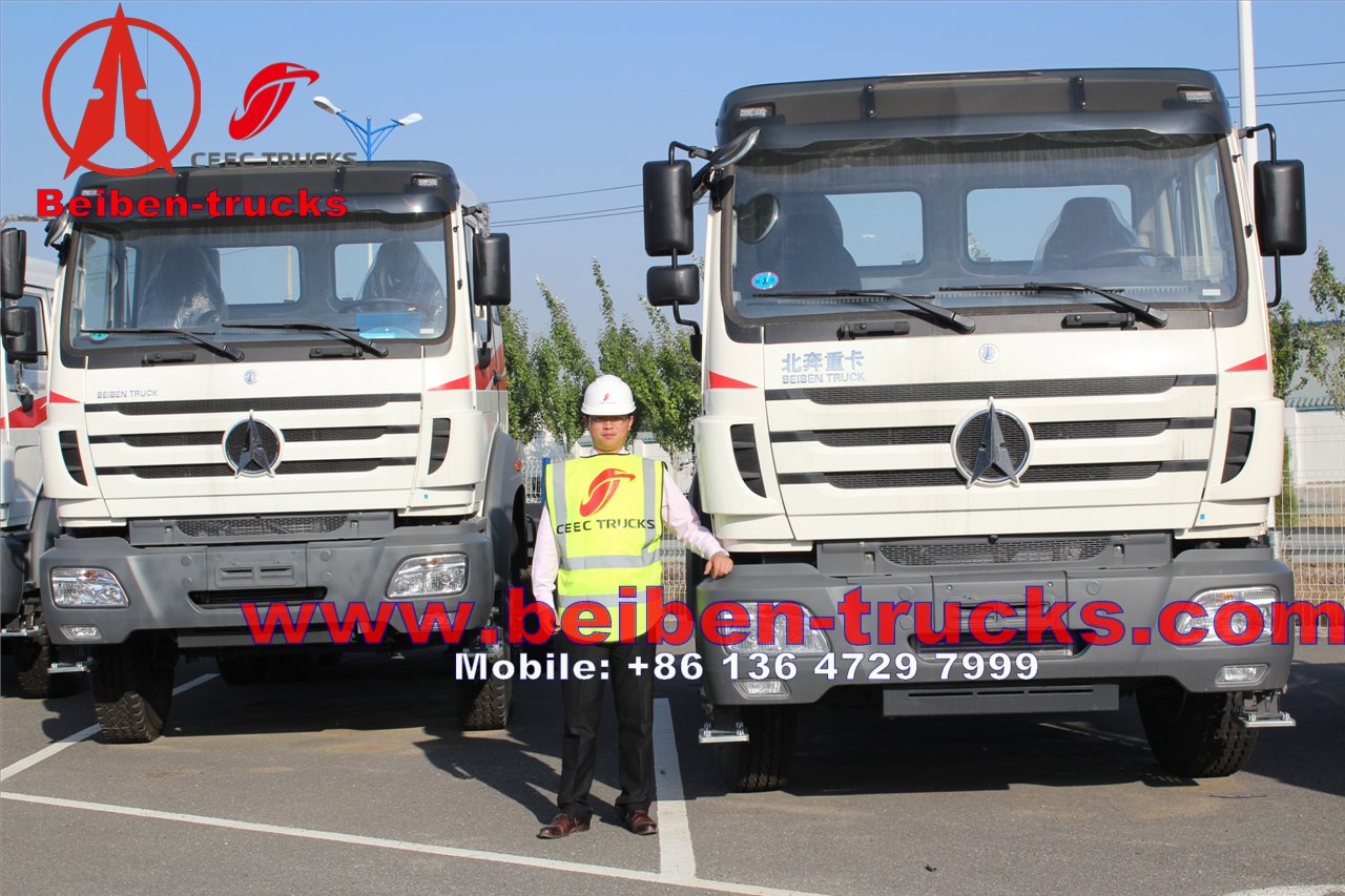 cheapest price for Mercedes Technology BEIBEN Tractor Truck
