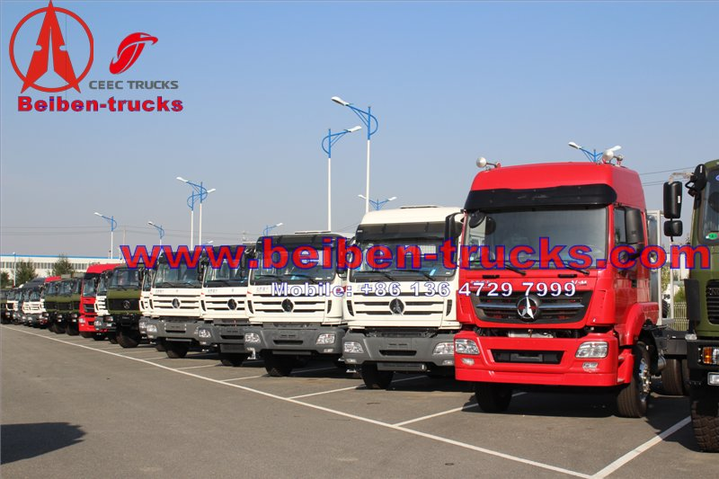 china Tractor Truck For Sale North Benz Beiben 6x4 380hp beiben truck price