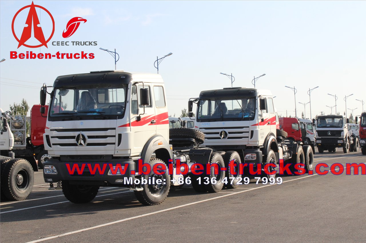 china Africa Hot Sale 420hp Beiben Tractor Head Truck & Trailer head Truck