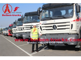 BEIBEN Tractor Truck Diesel Engine Dubai Import Made in China