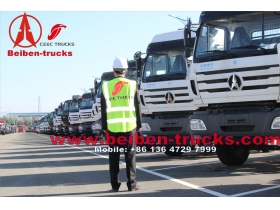 china 480hp North Benz BEIBEN 6x4 tractor truck 100 ton trucks supplier