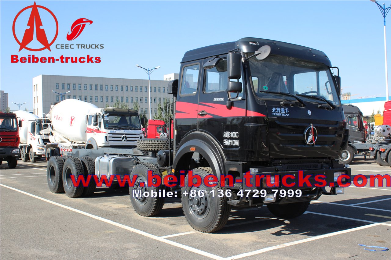 Mercedes Benz 6x4340hp Tractor Truck For Hot Sale From China/Beiben tractor truck