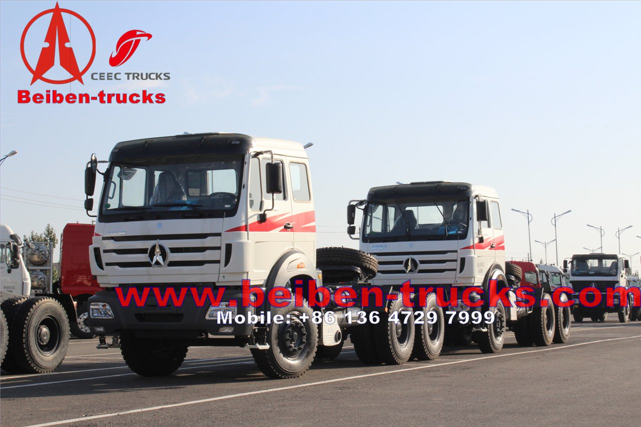 africa used 6*4 Beiben Tractor Head Truck & Trailer head Truck for sale
