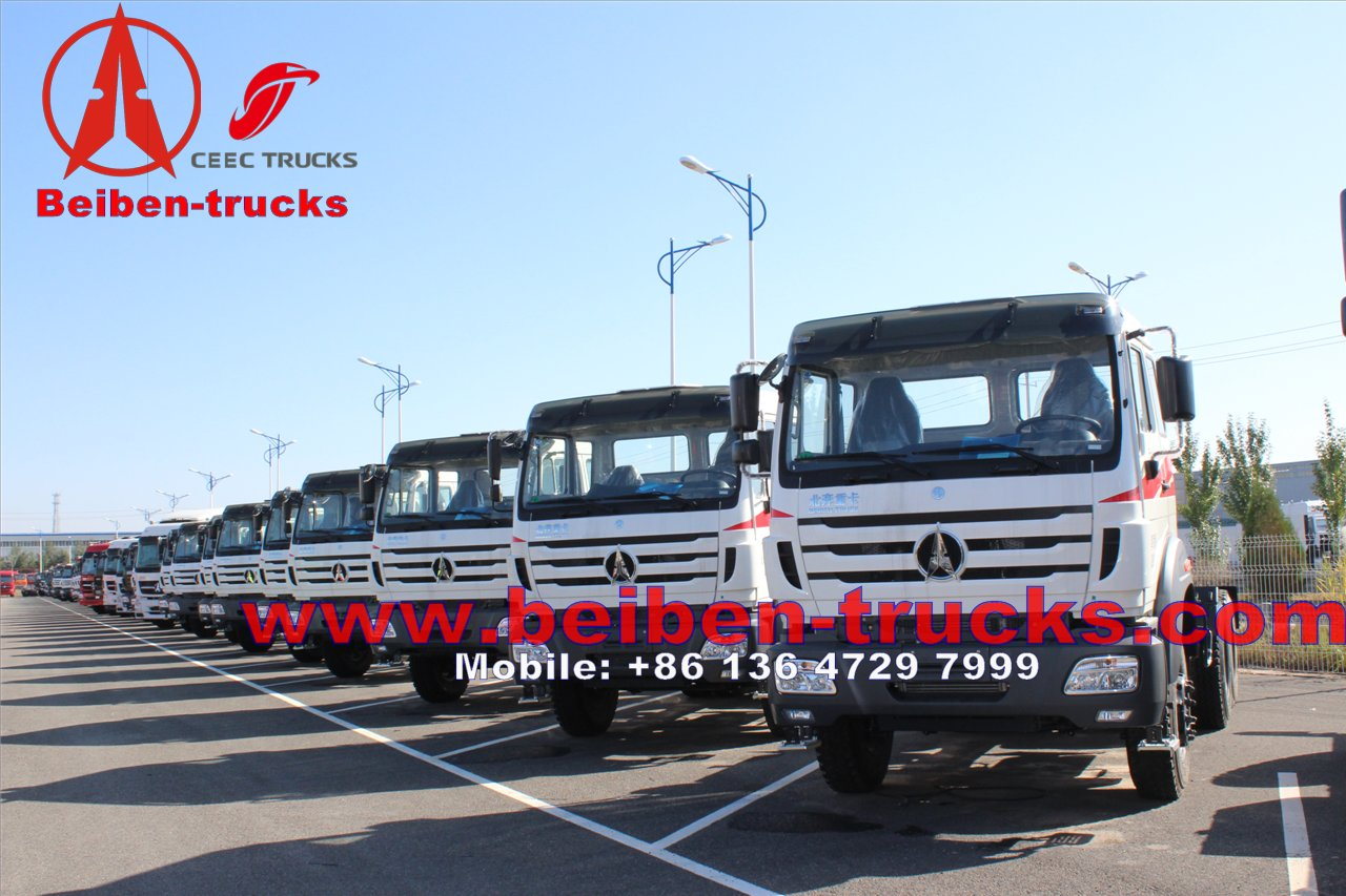 cheapest price forNew model North Benz BEIBEN Tractor Truck LHD/RHD with 336hp, 375hp
