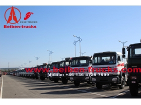 china manufacturer for Beiben 6X4 380hp EUROIII truck tractor head
