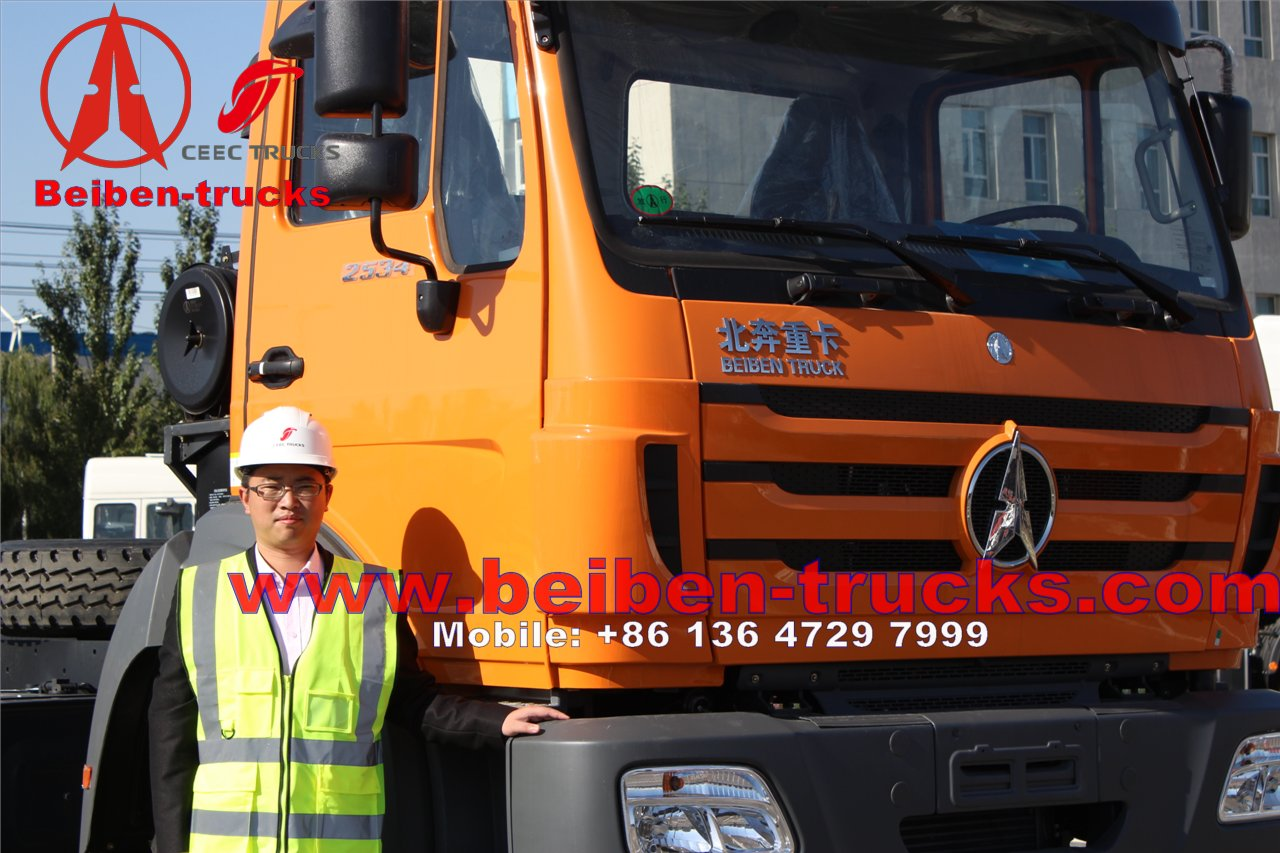 china North Benz BEIBEN 4x2 tractor truck, benz tractor truck