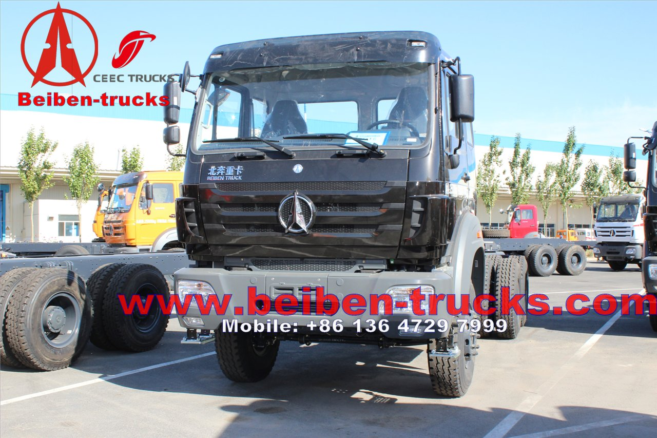 china famous Hot Sale in Africa 6X4 North Benz Beiben 380 hp tractor head
