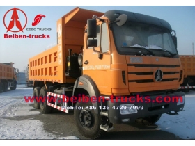 Durable Beiben 290HP 6x4 Heavy Duty dump truck for sale in Dubai