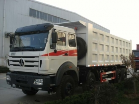 North benz 8*4 drive 12 wheeler dump trucks  manufacturer