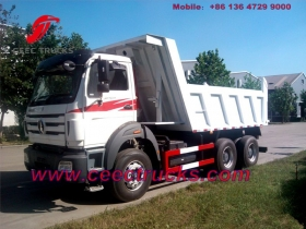 china good performance beiben dump trucks manufacturer