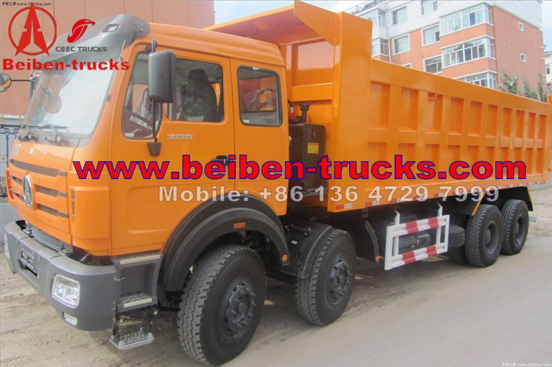 china North Benz NG80 WEICHAI Engine EUROIII Truck Hydraulic Cylinder 8x4 Beiben Dump Trucks Truck  manufacturer