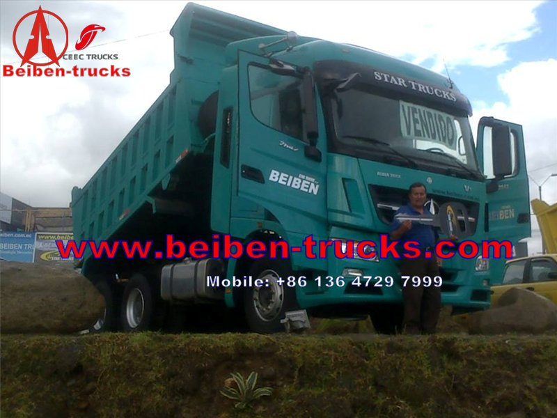 china Mercedes Benz technology BEIBEN Dump Truck  manufacturer