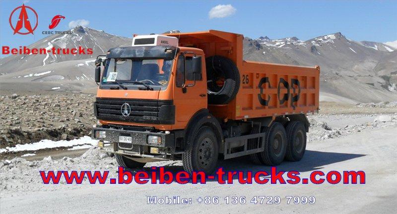 cheapest price The Heavy Duty Truck Beiben Dump Truck /Tipper 6X4 V3 Series 380HP 30on -50 ton Dump Truck