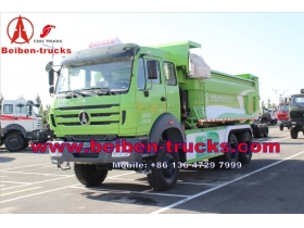 congo 380hp north benz 8x4 Beiben 30t dump truck for sale