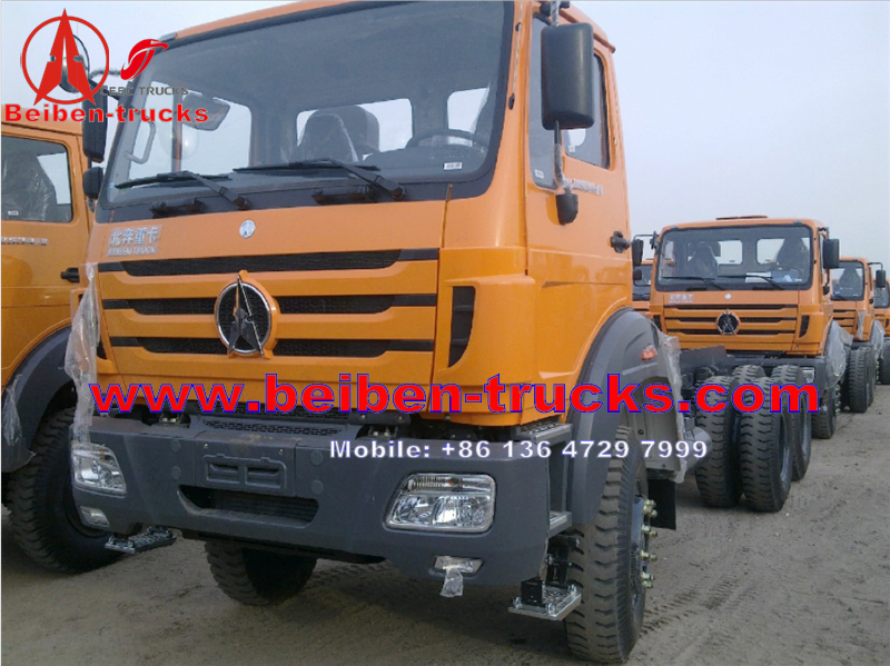 cheapest price 40T 380HP 6X4 beiben dump truck