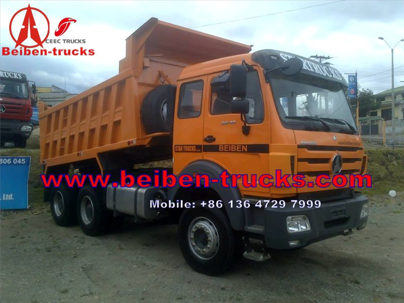 china North Benz BEIBEN Dump Truck ND3254B38 - 2534KY 6x4 with WEICHAI engine,Fuller Gear box on hot sale 9years experience manufacturer