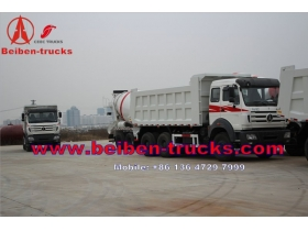 china Direct sale Beiben Mercedes Benz technology 6x4 10 wheel dump truck capacity