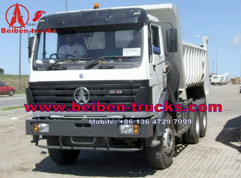 china North BENZ Beiben Dump truck with different horse power 290hp 340hp 380hp power wheels dump truck  price