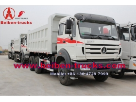 BEIBEN tipper truck 20T 340hp North Benz 6*4 dump truck mining truck for congo customer