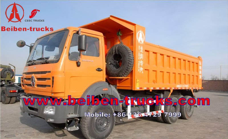 china The Best Quality 30T B380hp 6*4 Beiben Dump Truck For Sale