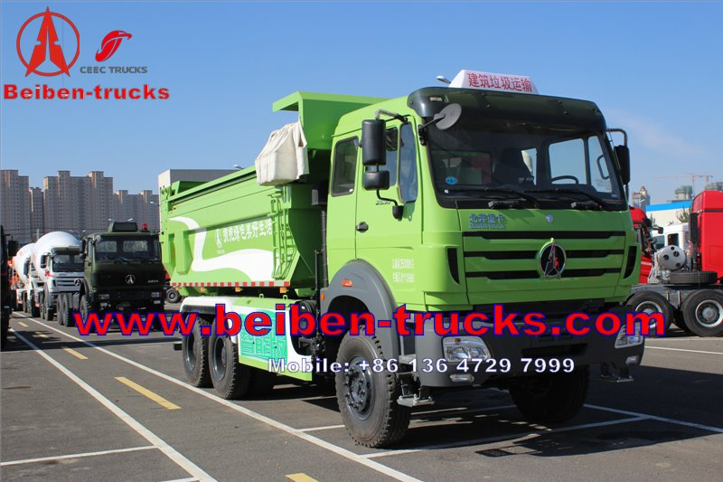best quality Mercedes Benz Technology 340hp & 380hp Beiben North Benz Dump Truck For Algeria