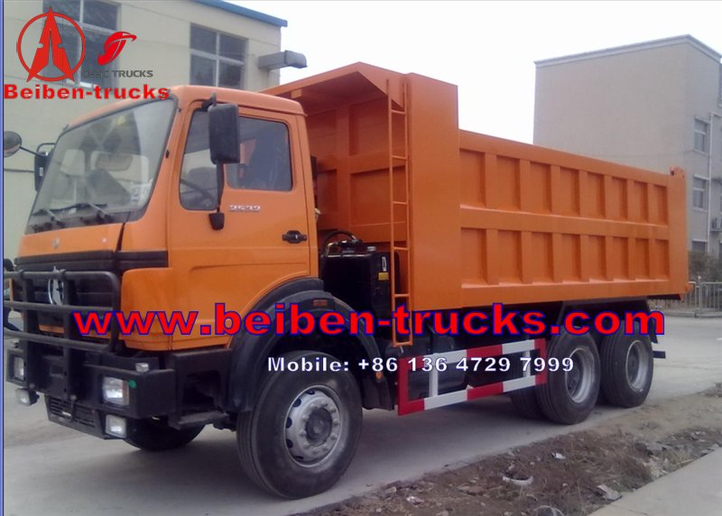china Beiben Dump Truck For Algeria