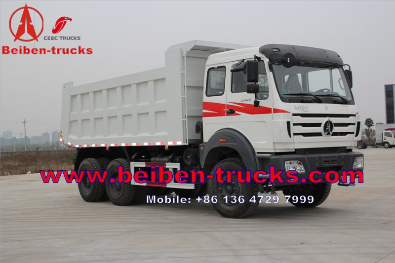china North Benz & Beiben 6x4 10 wheel 380hp tipper truck and dump truck For Sale