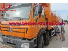 Dump truck dealer north benz 8x4 Beiben 50t chinese dump trucks  supplier
