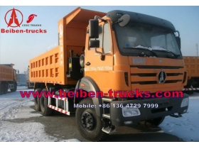 china Hot Sale Beiben Truck in Congo 380hp 6*4 Beiben Dump Truck