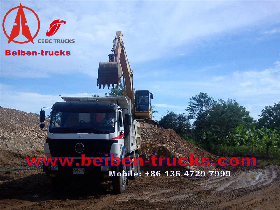 china The Beiben Dump Truck 6X4 Tipper ND32500B48J7 Heavy Duty Truck supplier
