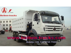 China North BENZ tipper truck BEIBEN 6x6 dump truck  manufacturer