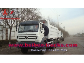 china BeiBen 6x4 340hp dump truck for hot sale /dump trucks for sale holland