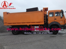 china North Beiben 6x4 380hp sand tipper dump trucks for sale