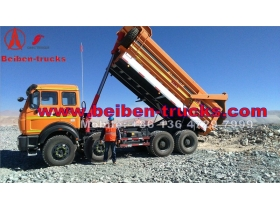 china Beiben NG80 8x4 380hp High Quality Dump Truck  manufacturer