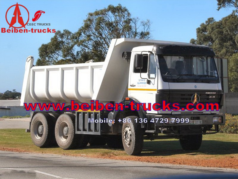 china manufacturer for Beiben 6x4 6x6 Dump Truck In Low Price Sale Truck Tipper