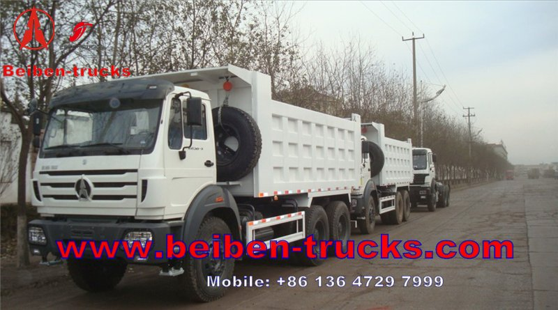 BEIBEN North Benz 12 wheels 8x4 60ton dump truck manufacturer