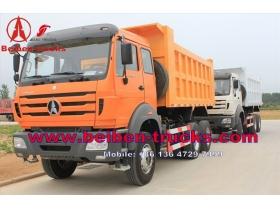 10 wheeler Beiben 380 hp dump truck price